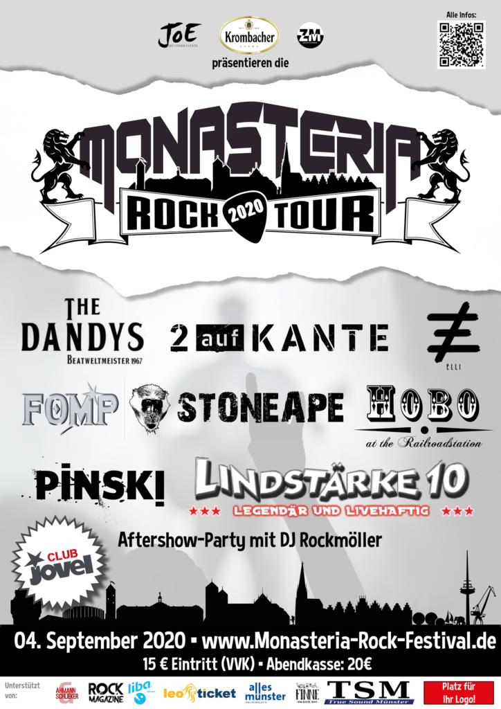 Plakat Monasteria Rock Tour 2020